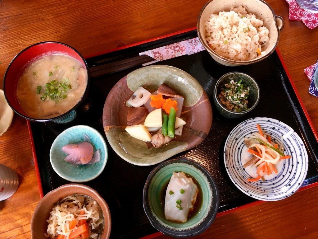 Lunch plate Kanan Ishigaki