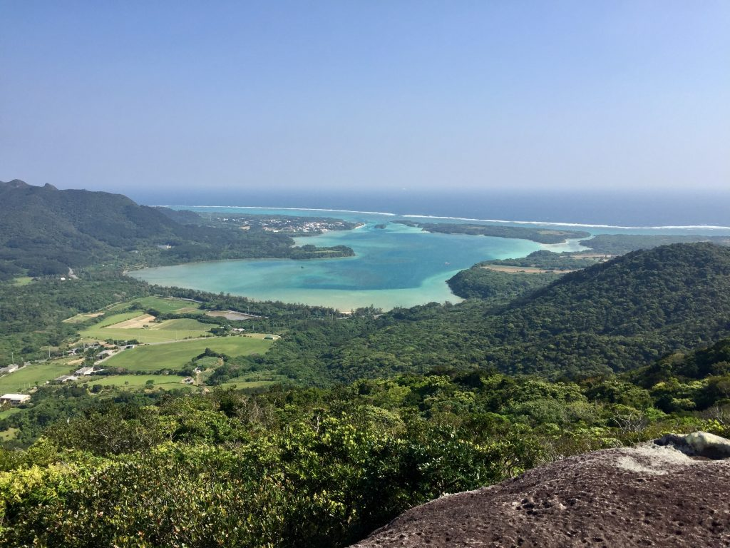 Kabira Bay hiking in Ishigaki Japan