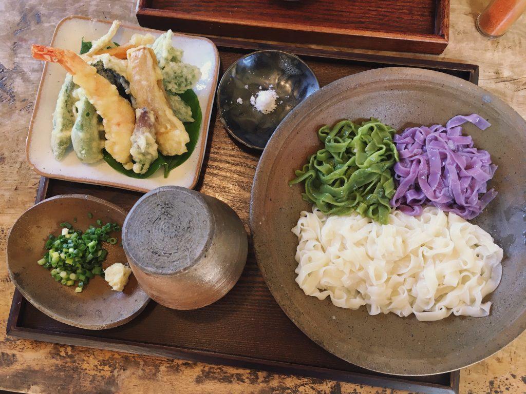 Kagi restaurant ishigaki okinawa japan chomeiso benimo kishimen