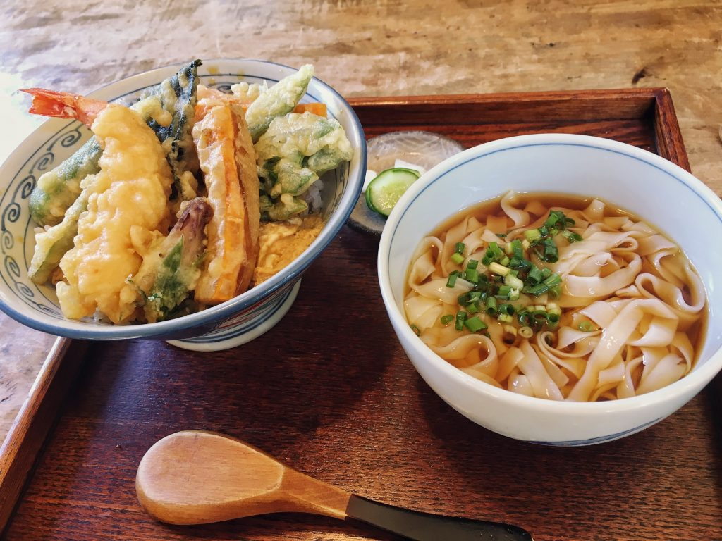 restaurant kagi ishigaki okinawa japan kishimen tempura